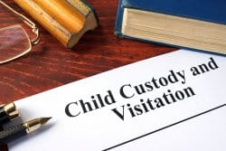 Child visitation documents